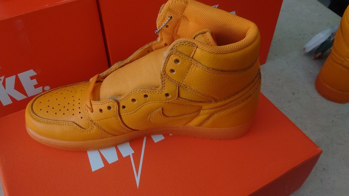 new style 94c6e 4e33b Nike Air Jordan I 1 High Gatorade Orange Naranja 28mx 10us