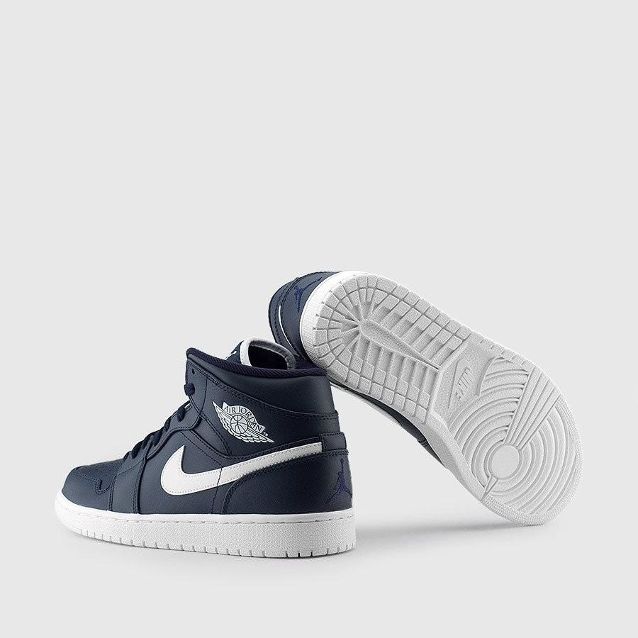 b039e35b3d407 Nike Air Jordan Retro 1 Cuero Blue White -   3.299
