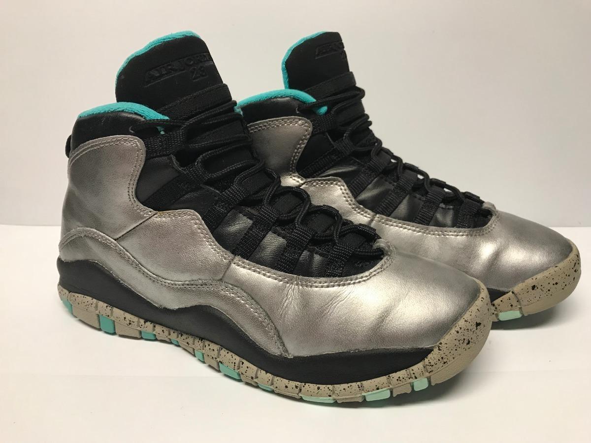 new style 24dcf 69ae3 Nike Air Jordan Retro 10 Lady Liberty Usado En Buenas Condiciones 23cm