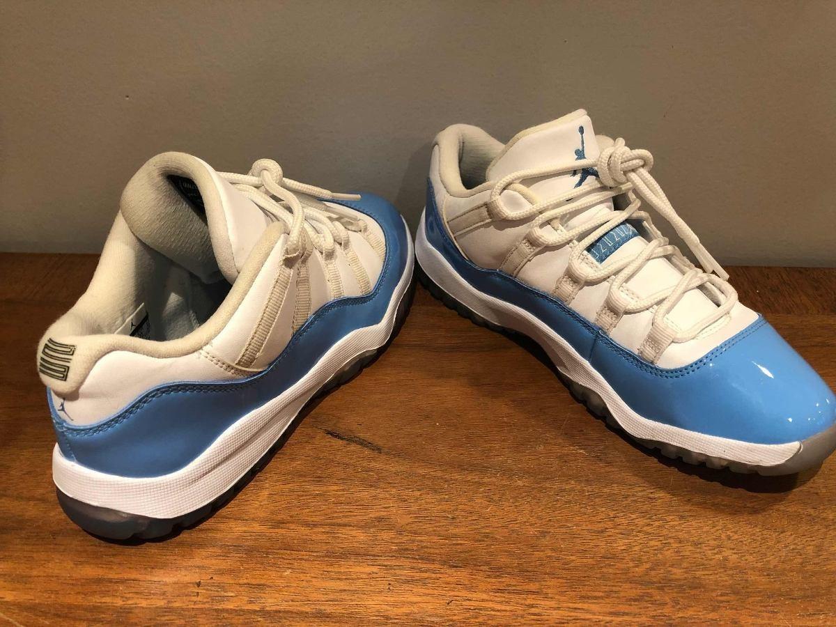 uk availability 4f8ad d4cc1 Nike Air Jordan Retro 11 unc Carolina Blue 22 Cm. T853