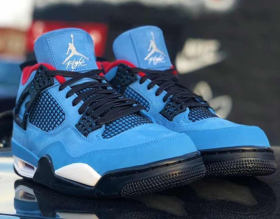 online retailer 4f73d 74046 Nike Air Jordan Retro 4 X Travis Scott Cactus Jack