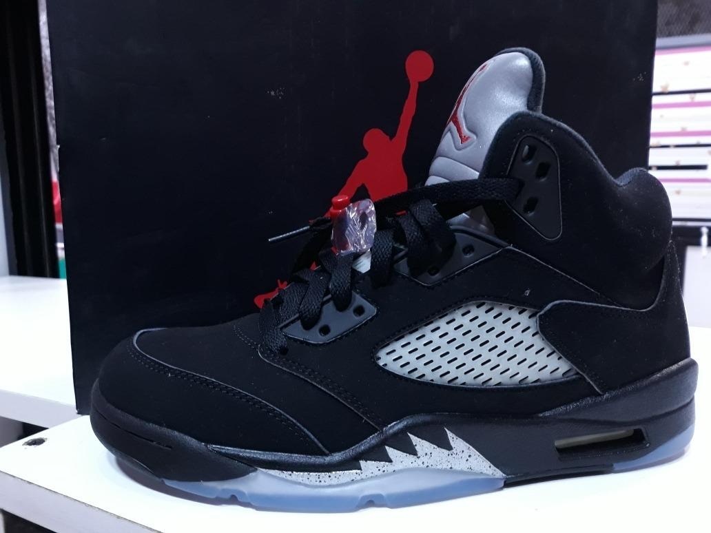 uk availability 0c8c5 edd1e Nike Air Jordan Retro 5 Black Metallic