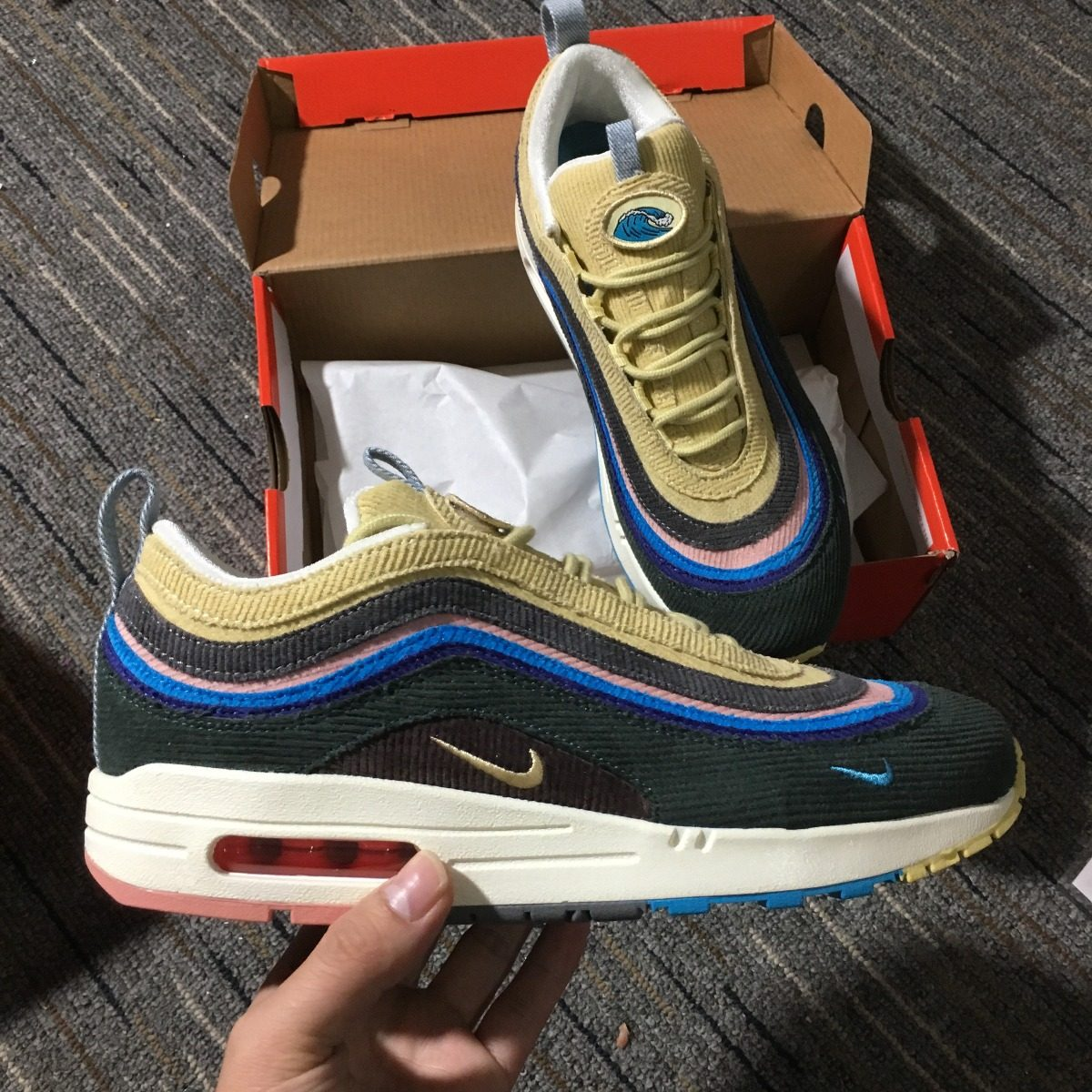 check out 88878 fea5c Nike Air Max 1 / 97 Sw Sean Wotherspoon (tallas 36 Al 45)