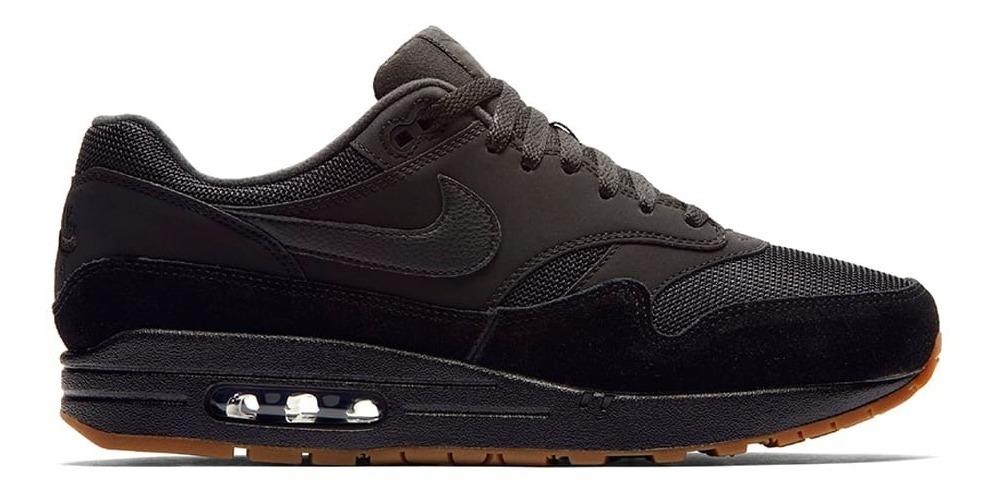 Nike Air Max 1 Black Gum Sneakers Negras