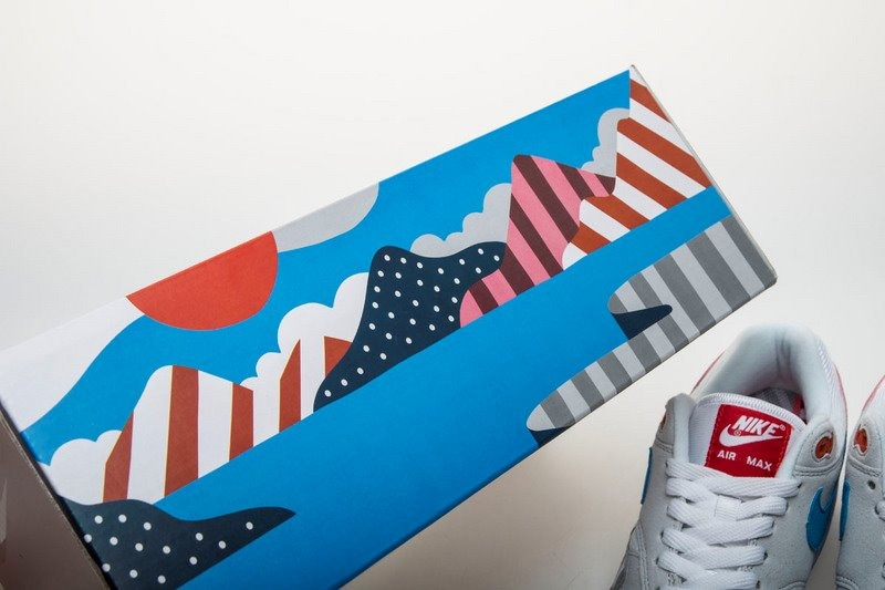 detailed look 72ab3 be933 Nike Air Max 1 X Parra