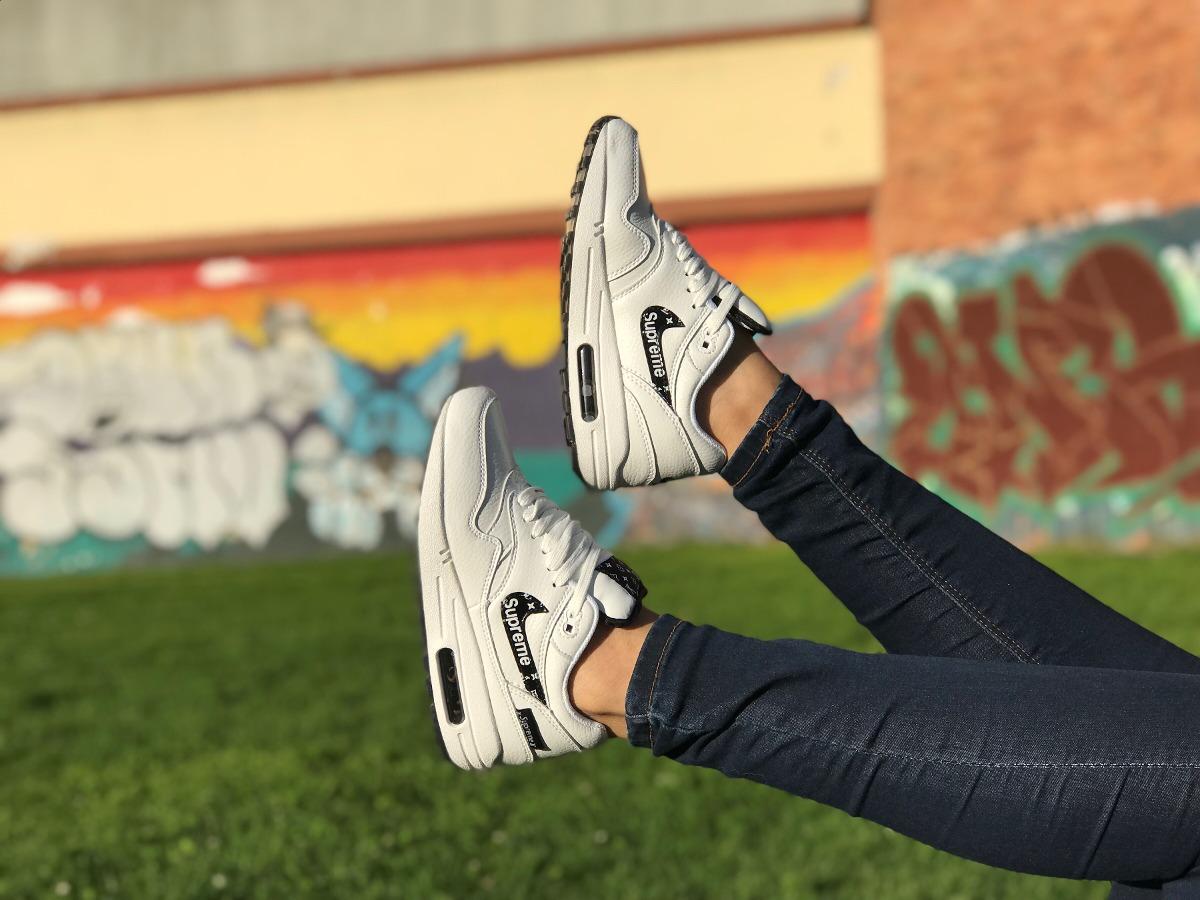 Nike Air Max 1 X Supreme X Louis Vuitton Dama -   169.900 en Mercado ... b96cb02823f