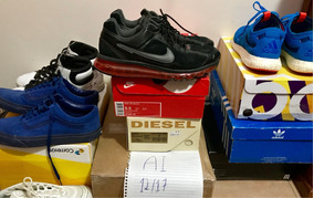 buy online 983af a9b1b Zapatillas Adidas Fashion Air Max - Tênis Nike Preto com o ...