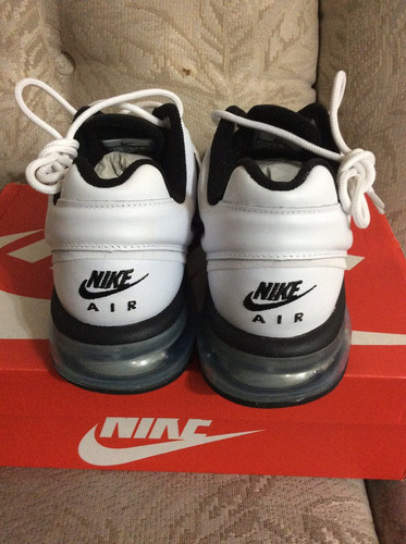 nike air max 2013 talla 6.5 blancos piel originales