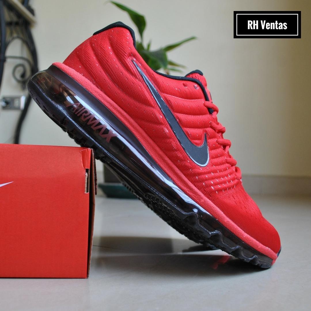 Nike Air Max 2017 rojo
