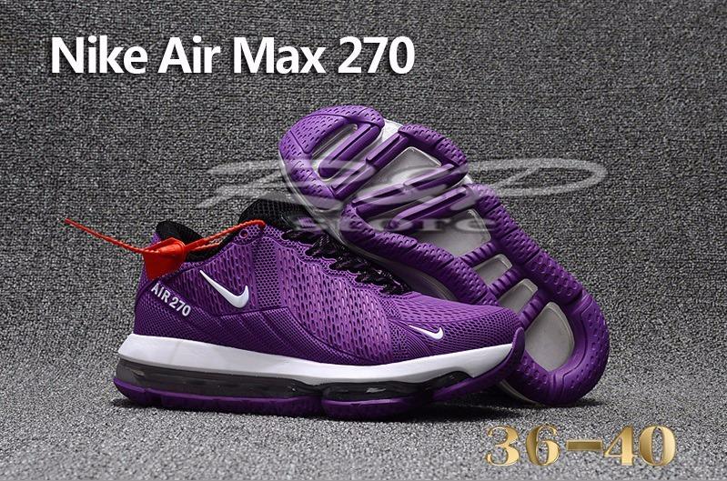 Nike Air Max 270 Moradas