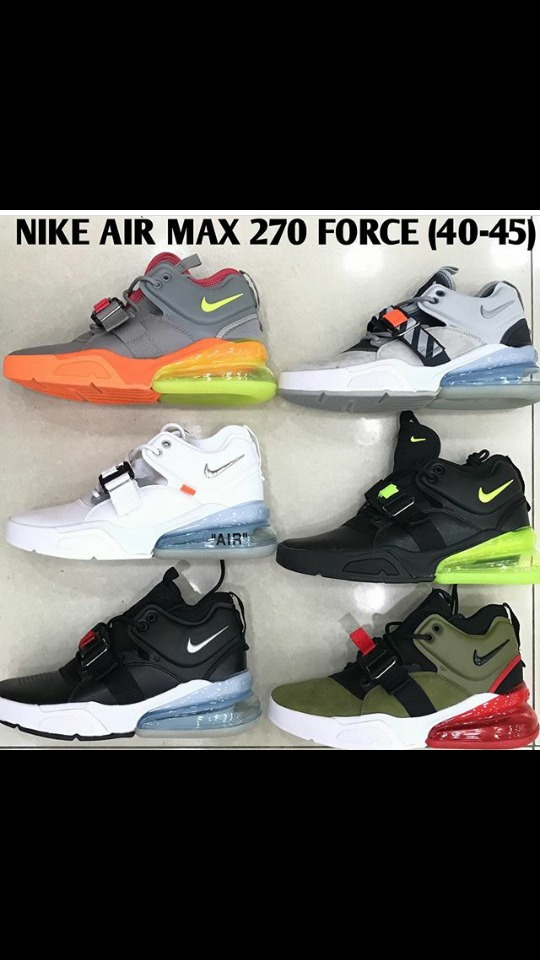 9e4a470585cd3 nike air max 270 force caballeros. Cargando zoom.