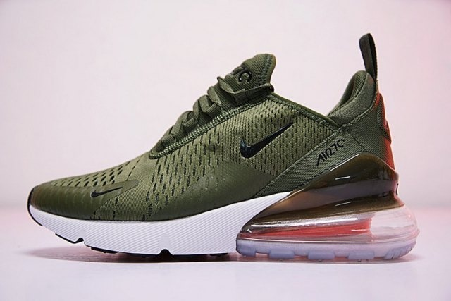 save off 70c46 1aac6 Nike Air Max 270 Green & White / Caballero Envío Gratis !!!