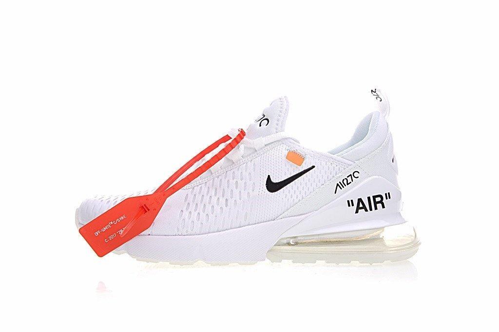 Promociones OFF White x Nike Air Max 270 Hombre AIRMAX270P0052 Zapatillas España, Comprar OFF White x Nike Air Max 270 Hombre AIRMAX270P0052 Baratas