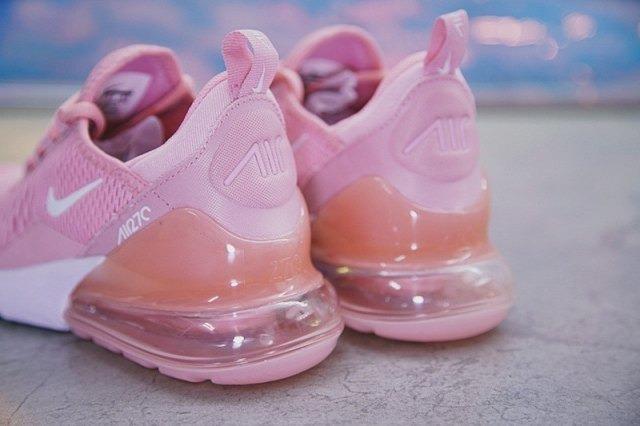 Nike Air Max 270 Pink   White   Dama Envío Gratis !!! -   1 b3154f5a1eeba