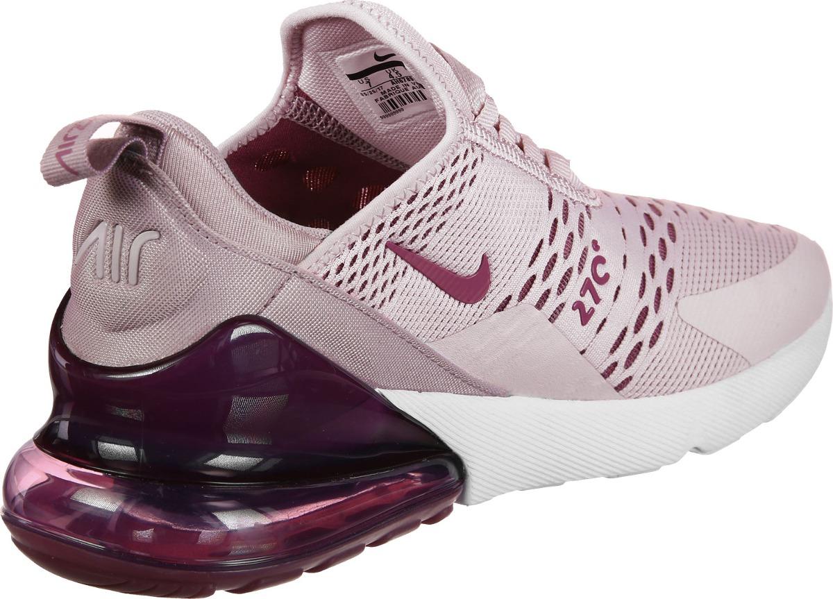 ... best price nike air max 270 rosa violeta y blanco dama con envio  gratis. cargando 73d35b66bea9a