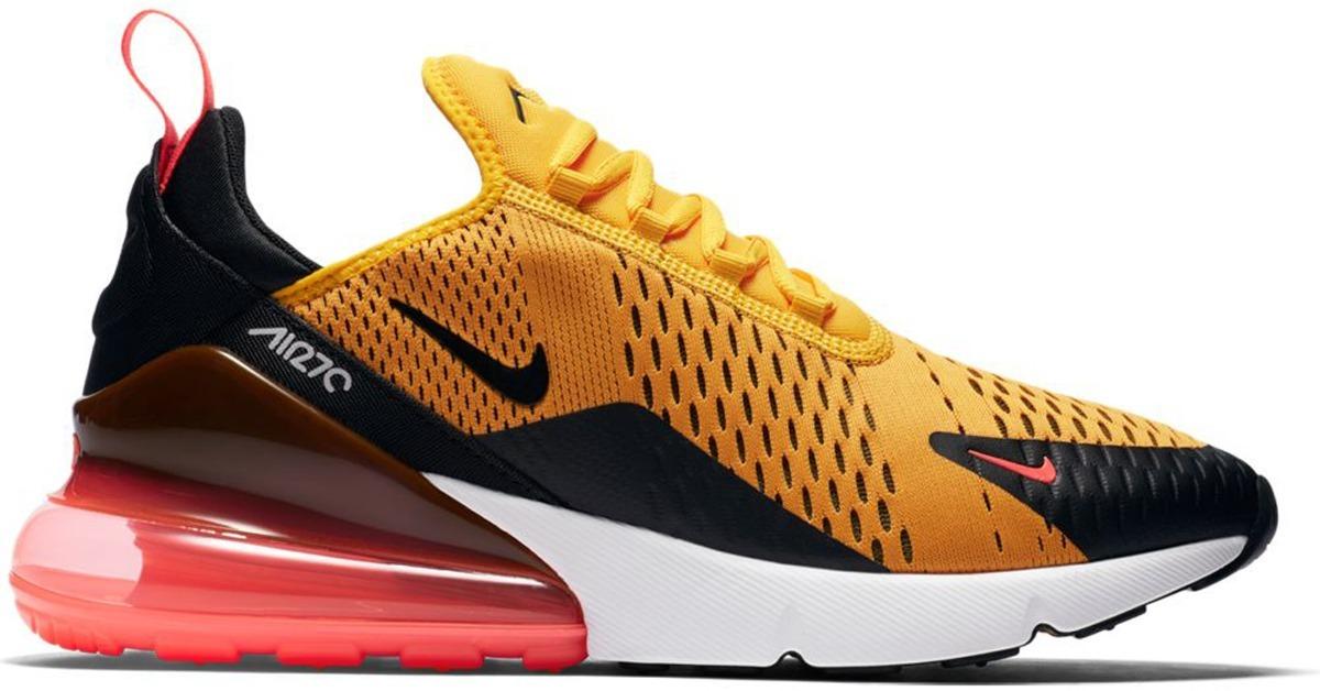 Nike Air Max 270: University GoldBlack | Shoes | Tenis nike