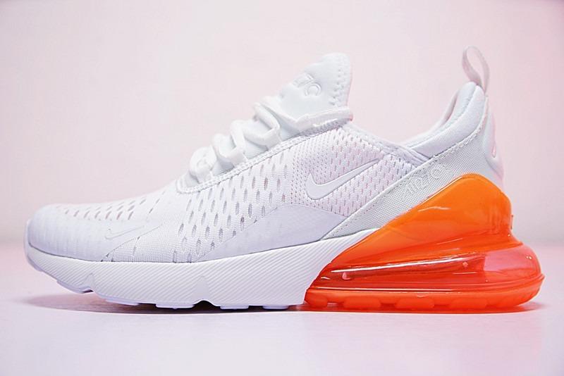 Nike Air Max 270 White And Orange   Dama Envio Gratis.. -   1 41afbcb0aaee1