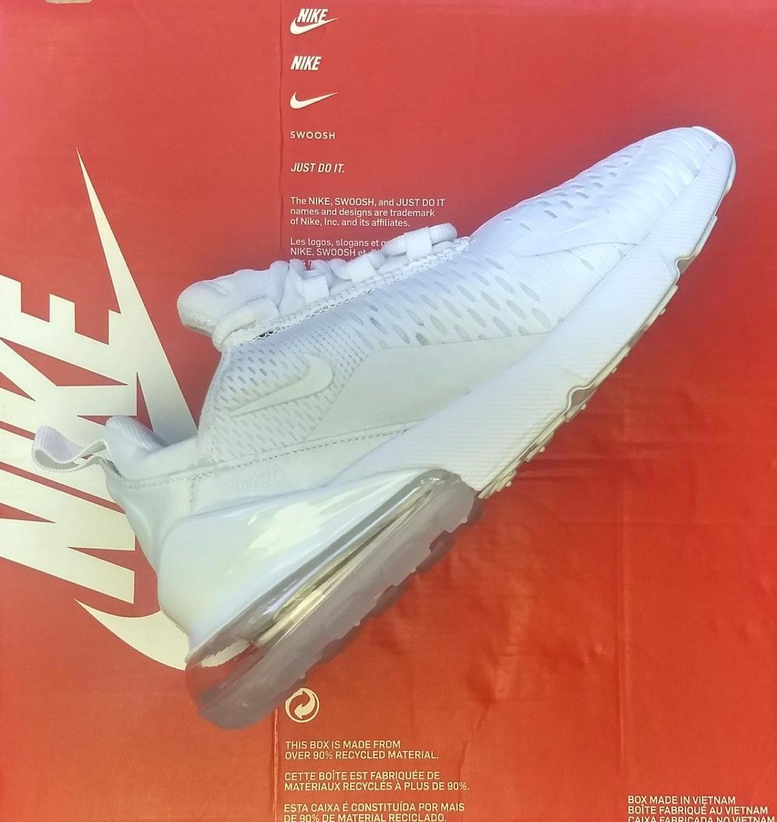 Nike Air Max 270 White Caballero Con Envio Gratis!!!