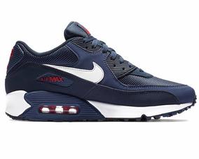 Nike Air Max 90 Azul Original De Hombre X Pedido