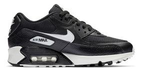 Nike Air Max 90 Black Summit White Dama Original X Pedido
