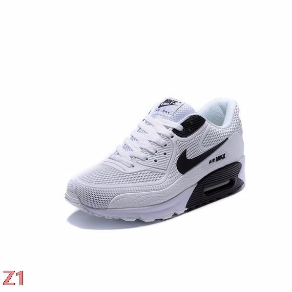 36103c33f65d6 ... low price nike air max 90 blanca detalle negro hombre mujer bfd97 531be