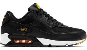 Nike Air Max 90 Essential Black Yellow Original X Pedido