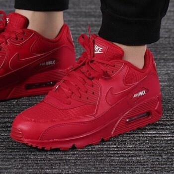 Nike Air Max 90 Essential Rojos Originales