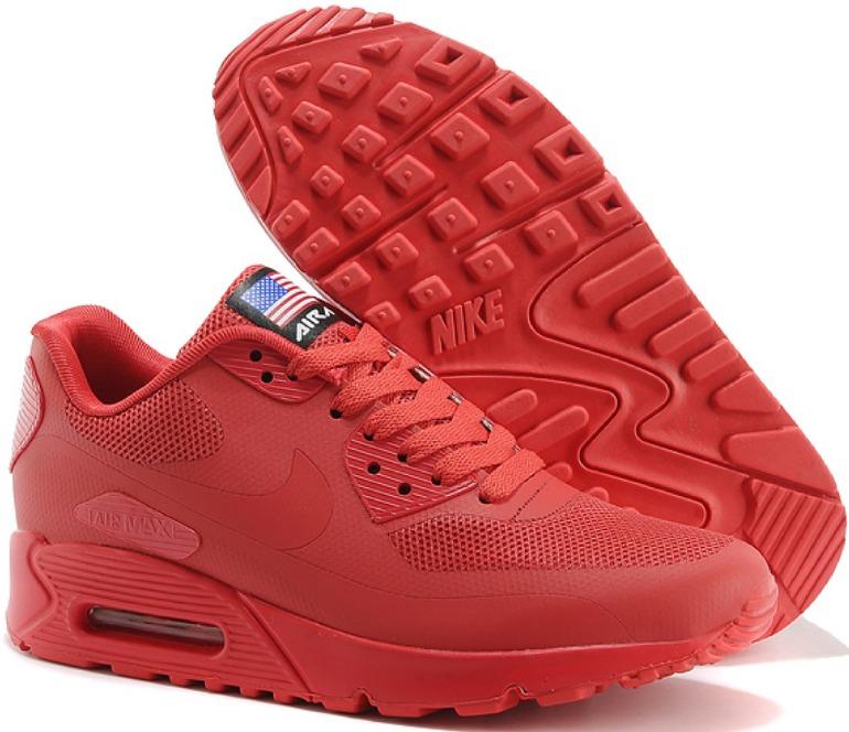 timeless design 3ab6c 137f6 nike air max 90 full red edición limitada exclusivas rojas