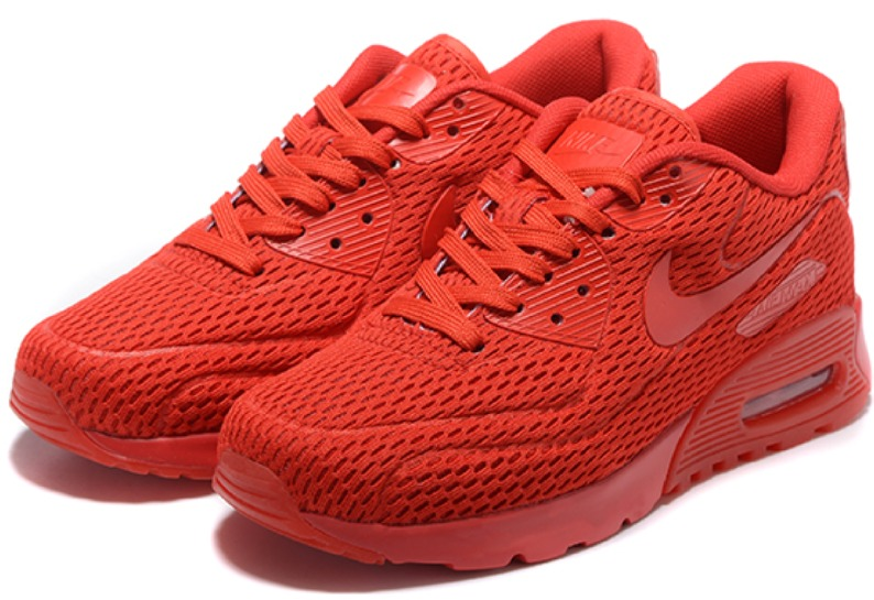 cheap for discount 65ae6 f94d0 nike air max 90 full red rojas exclusivas edición limitada