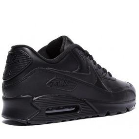 cef7076641c Zapatillas Nike Air Max 90 Negras Hombre - Zapatillas en Mercado ...