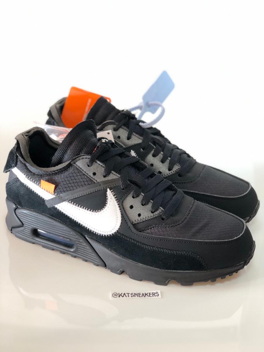 Nike Air Max 90 Off White Black 40 Ds Frete Grátis