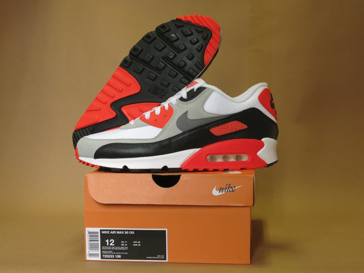 f015e9478cd nike air max 90 og retro infrared pronta entrega! Carregando zoom.