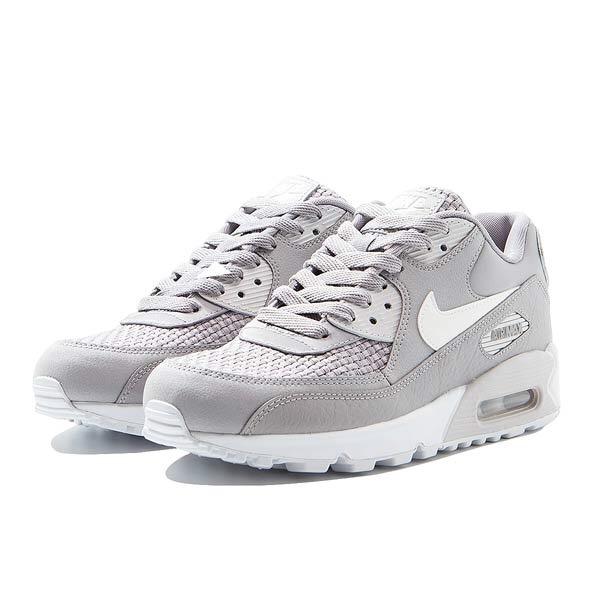 Nike Air Max 90 Se Atmosphere Grey White- Mujer -   4.399 3da1cab48e0ba