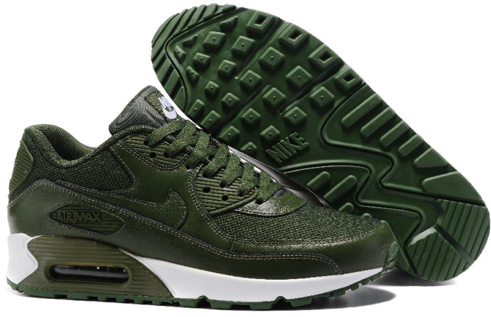 nike air max 90 verde militare