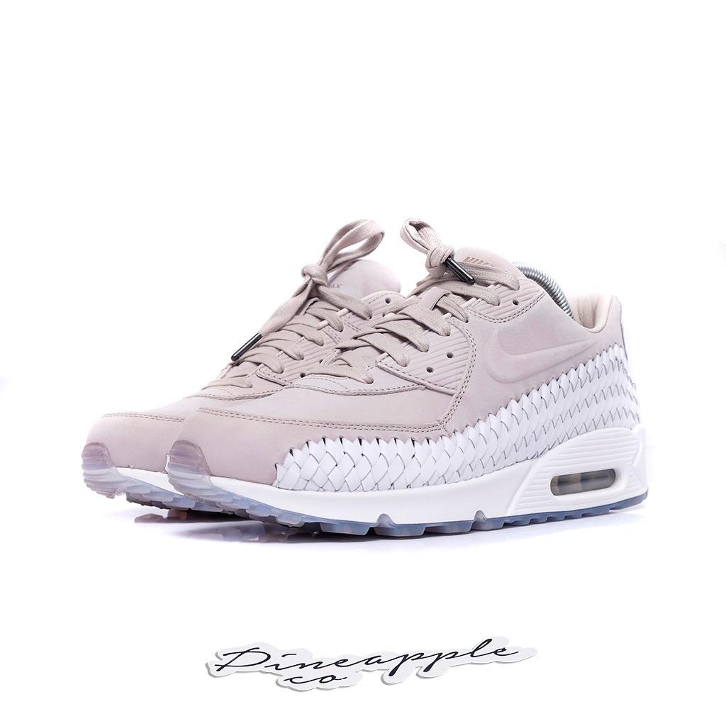 Nike Air Max 90 Couro Legítimo Branco Floral ... bf4e95887a419e  Nike Air  Max 90 Woven Iron Ore - R 520 d25fdf2a18d26