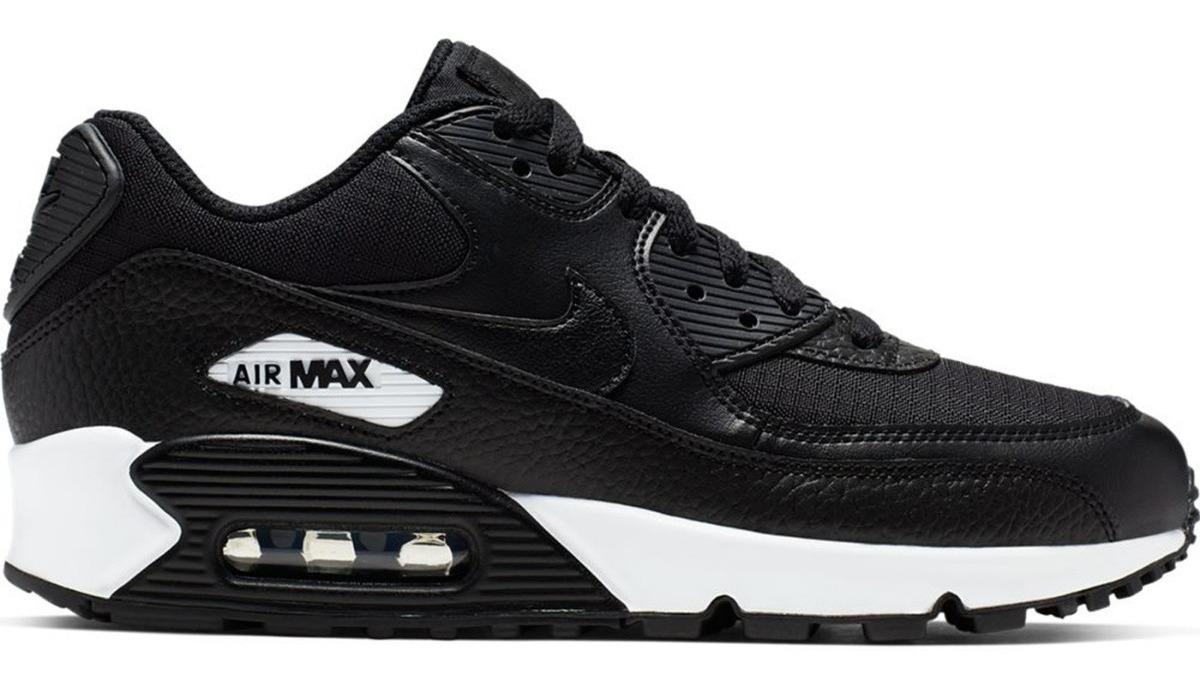zapatillas nike air max mujer negras