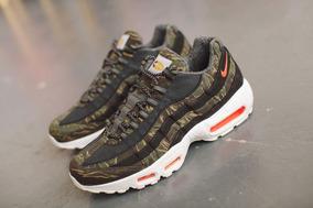 Nike Air Max 95 X Carhartt Wip Tiger Camo Sneakers