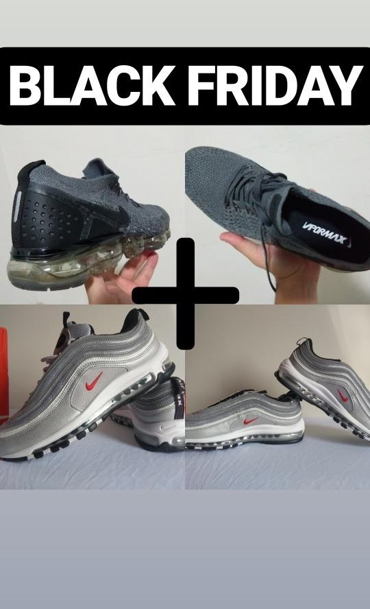 Nike Air Max 97 E Vapormax Flyknit 2.0 Masculino 41 Os 2 X1 - R  689 ... e0890d64d1188