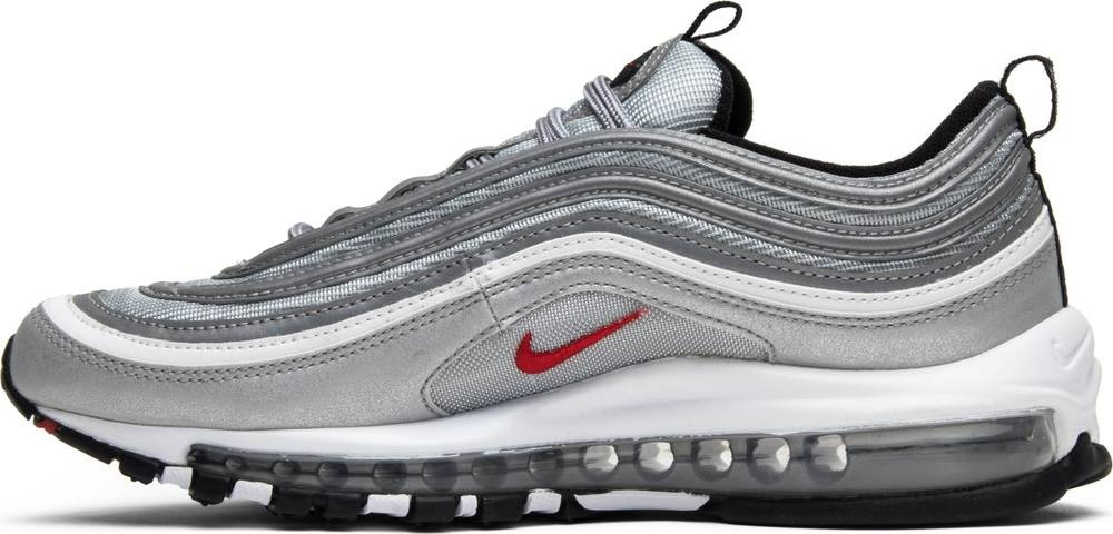 reputable site 30be9 f01c0 Nike Air Max 97 Silver Bullet Ultra '17 Men's Shoe -metallic