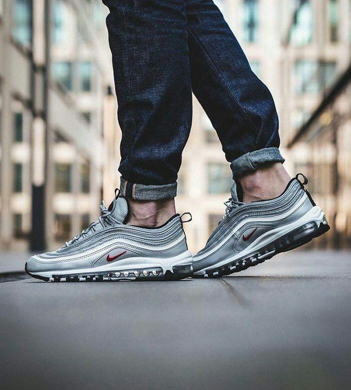 air max 97 hombre silver