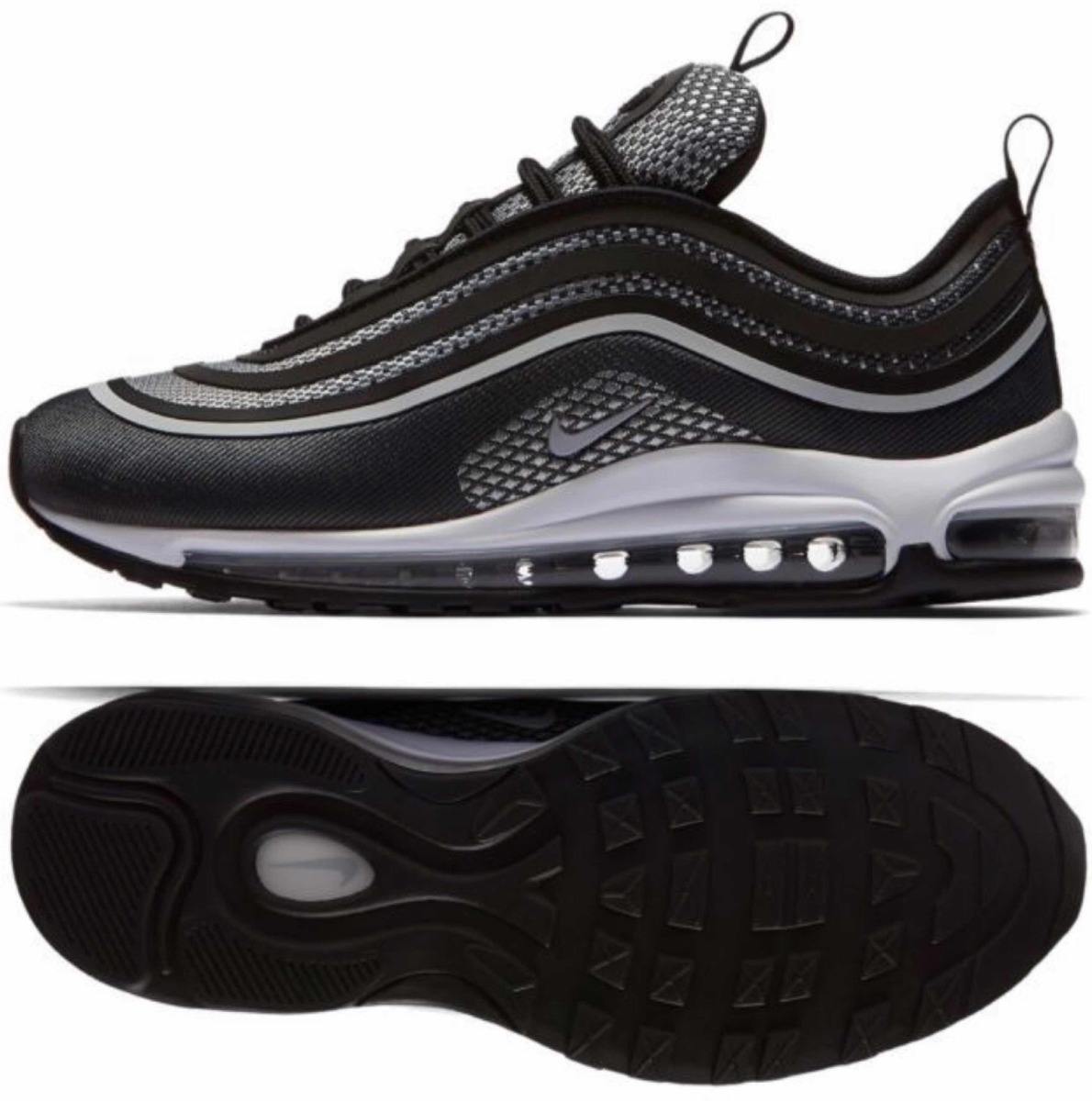 finest selection d88d1 47115 ... wholesale nike air max 97 ultra black reflective. cargando zoom. 113c4  a22aa