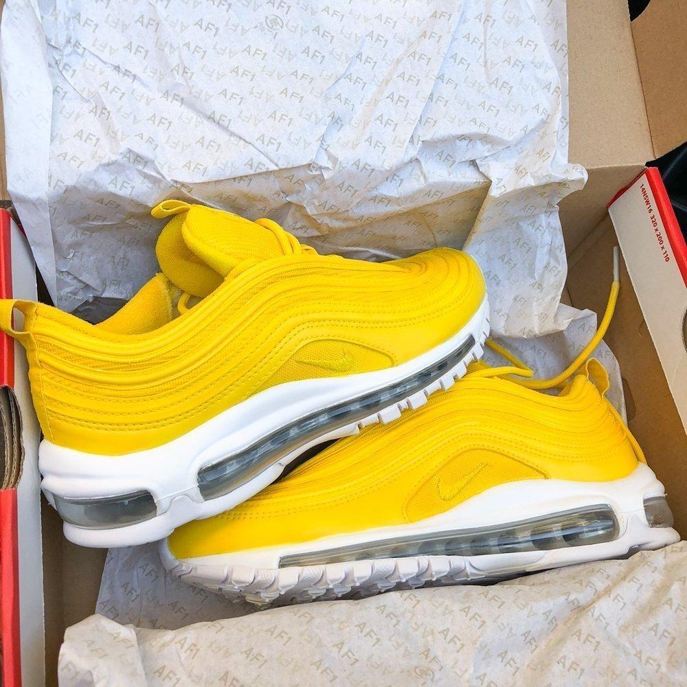 nike air max 97 mujer amarillo