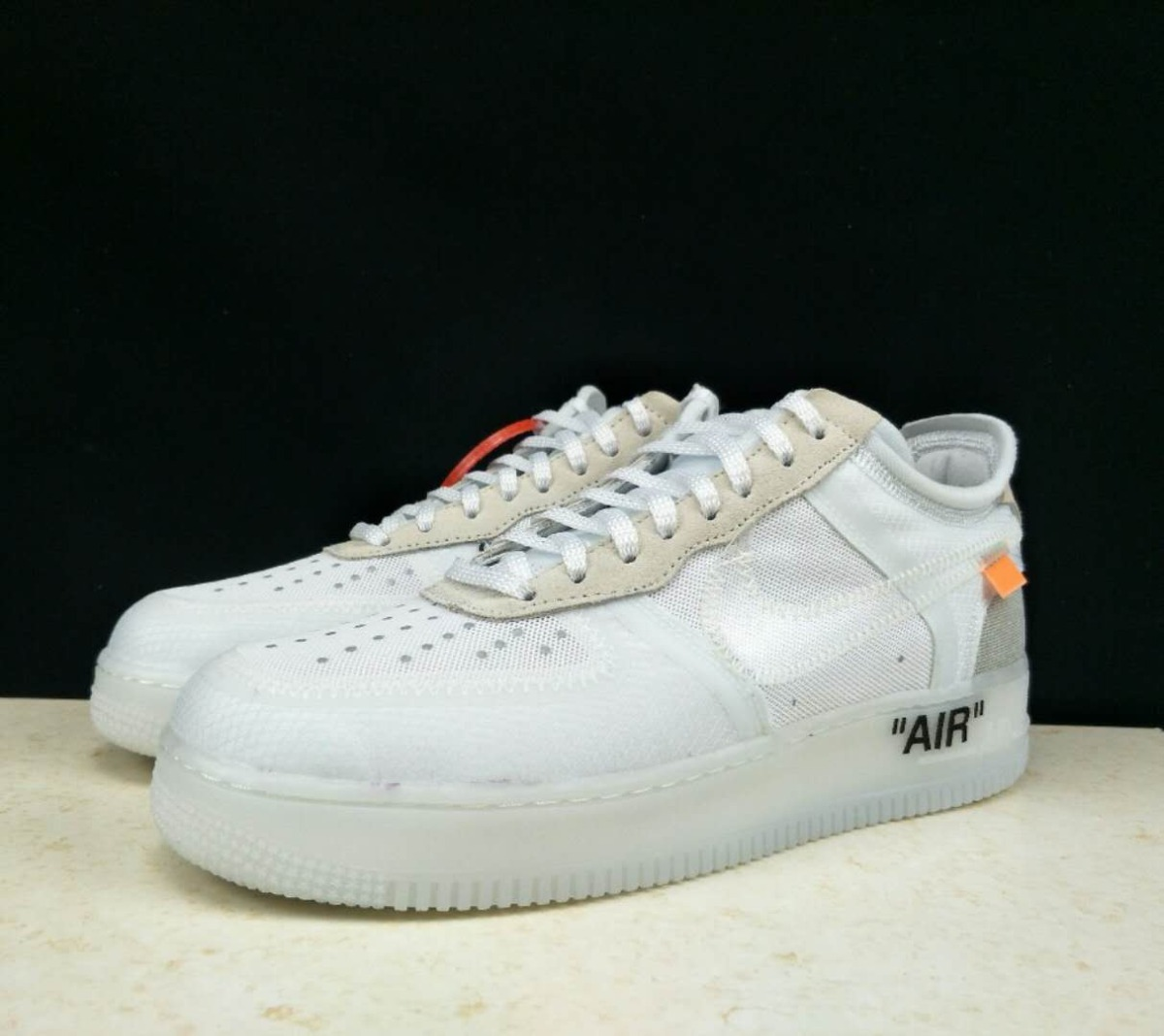 c1633782357e nike air max force 1 off white. Cargando zoom.