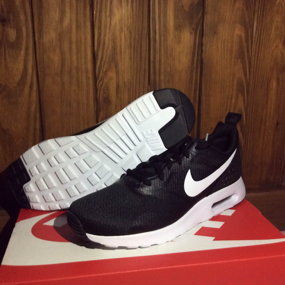 atravesar Traer Bocadillo  Nike Air Max Tavas Negros Nuevos Burbuja Originales - $ 1,140.00 ...