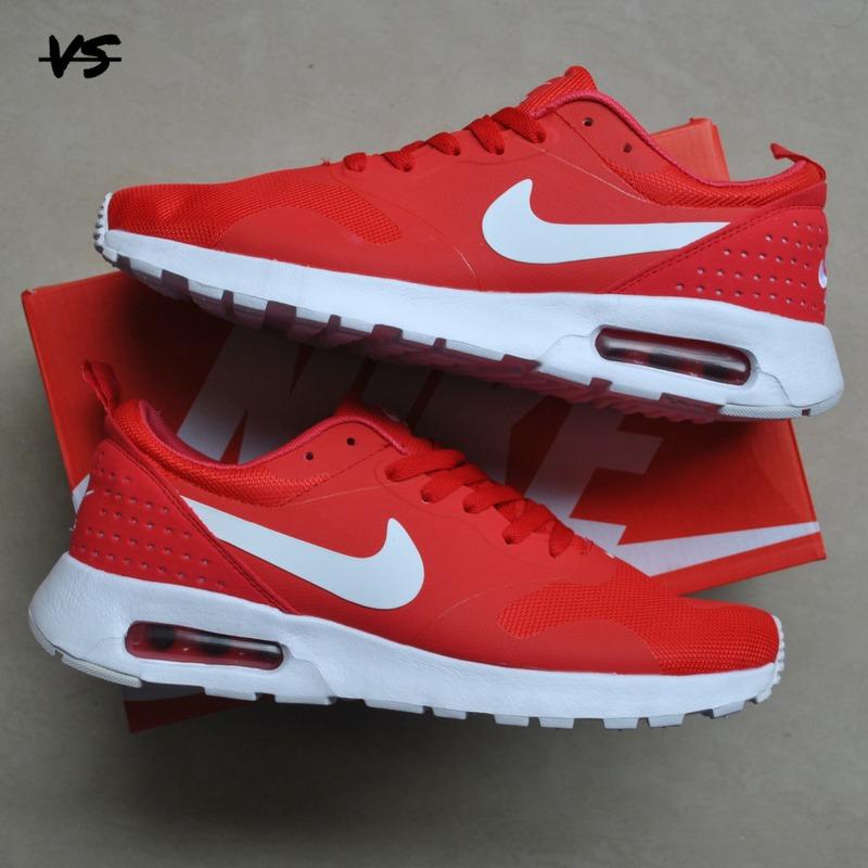 best sneakers eee79 3d0c9 ... nike air max tavas rojo blanco. cargando zoom.