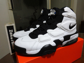 Nike Air Max2 Uptempo 94 Ray Allen Pippen Black Men Basketball Shoes 922934 102 10