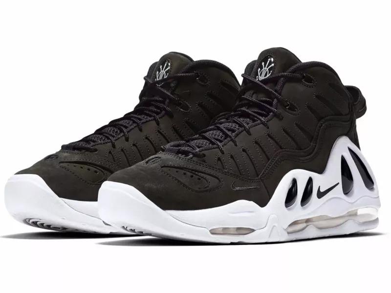 Nike Air Max Uptempo 97 Black Nub Basketball Authentic