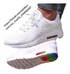 Nike Air Max Zero Be True Blancos Caballero Envio Gratis.