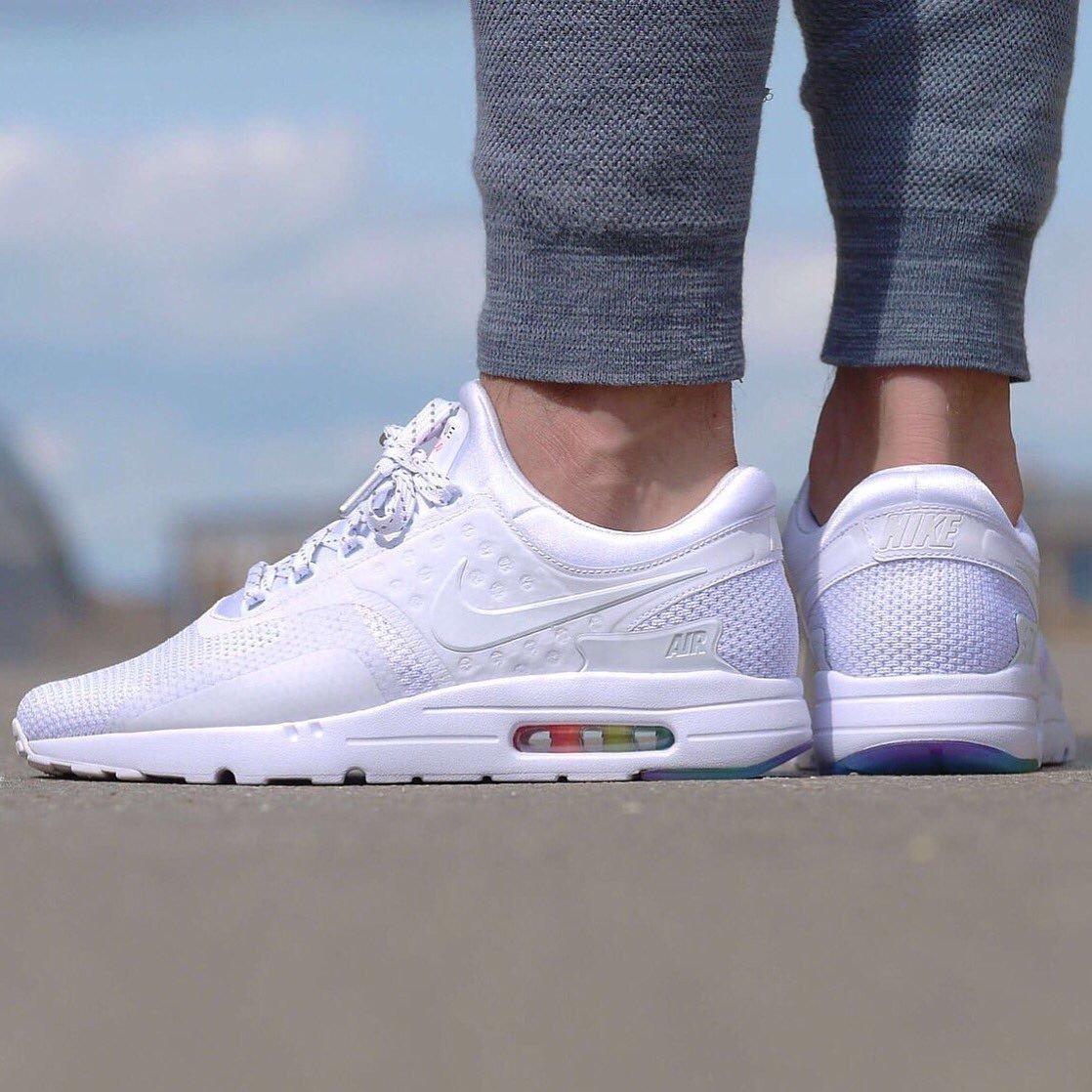 Nike Air Max Zero Be True White & Colors Dama Envio Gratis