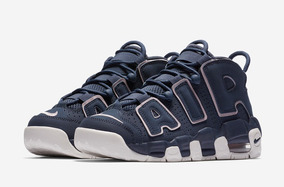the best attitude c5696 c2966 Nike Air More Uptempo Gs Mujer Basquet Pippen Mayma Sneakers